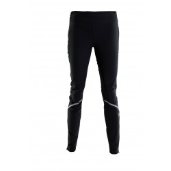 SkiGo Zenith Eco Warm-up pant, women, black, L