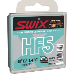 Swix HF5X Turkos -8/-14 grader, 40 g