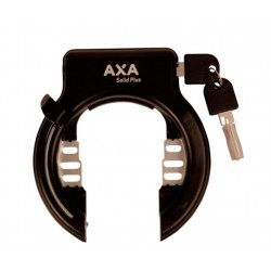 Axa Solid Plus Svart ringlås