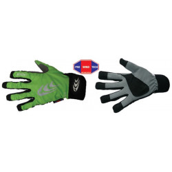 KV+ Focus XC gloves green,