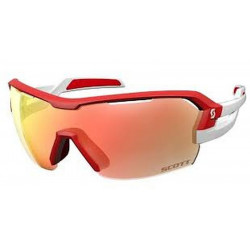 Scott Spur Sunglasses Red/White Red Chrome