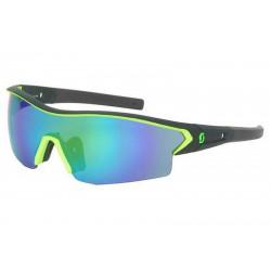 Scott Leap Sunglasses Black Matt Neon Green Chrome