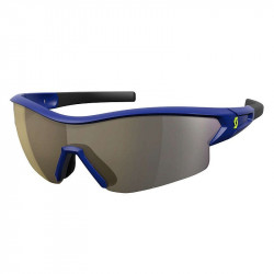 Scott Sunglasses Leap Blue Gold Chrome + Clear