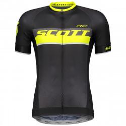 Scott Shirt RC Pro Black/Sulphur Yellow