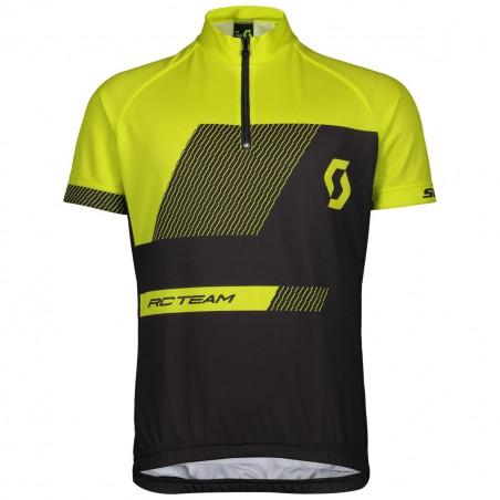 Scott Shirt Jr RC Team Black/Sulphur Yellow