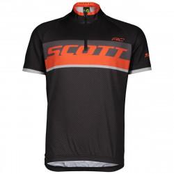 Scott Shirt Jr RC Pro Black/Tanger Orange
