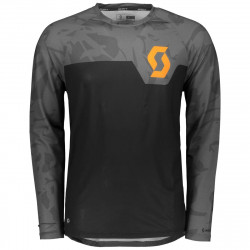 Scott Shirt Trail 20 Black/Pool Grey