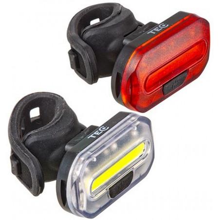 Belysningssats Duo 32/8lm, TEC 2xcr2032 batterier,