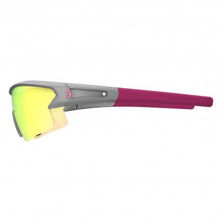Scott Leap Grey/Purple Green Chrome + Clear