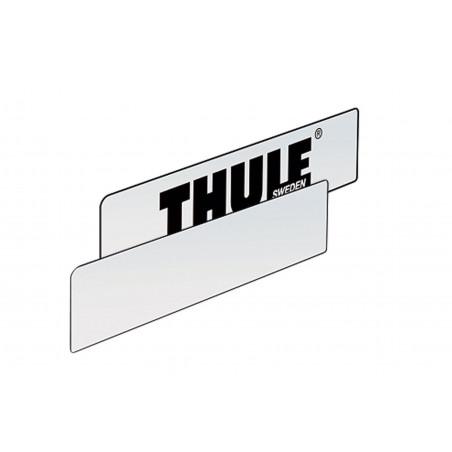 Temporary registration plate