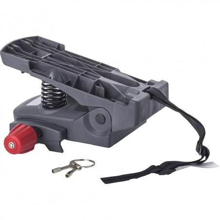 Hamax Caress Carrier Adapter Grå/Svart