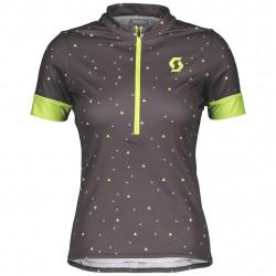 Scott Shirt Ws Endurance 20 Dark Grey/Shadow Green