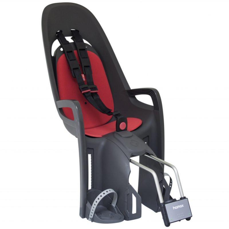 Hamax Zenith barnstol, rammontering Grå/Röd