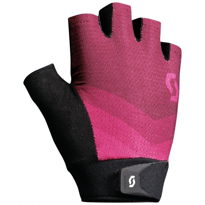 Scott Glove Essential Womens Tibetan Red/Azur Pink REA