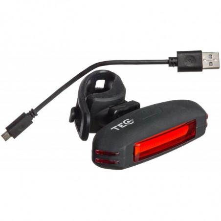 TEC  Laxo Diod baklampa Gummi  36 Lumen USB laddning