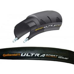 Däck Continental Ultra Sport 700x25C svart 25-622 mm