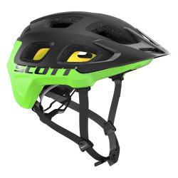 Helmet Vivo Plus Blackk/green flsh