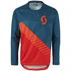 Shirt Trail 20 l/sl ecl bl/fr rd