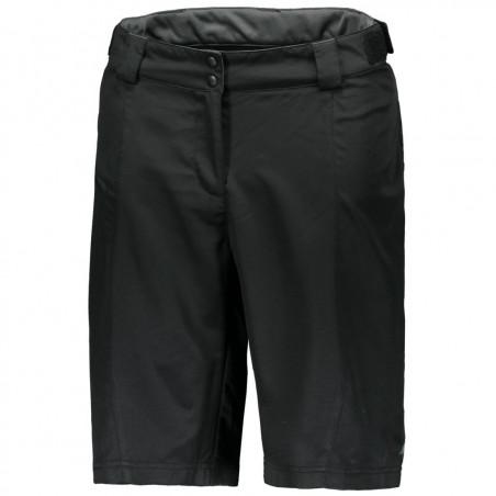 Shorts Ws Trail 30 ls/fit w pad blck/dk grey