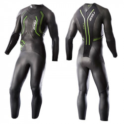 2XU A1 Active Wetsuit, Black/Vibrant green