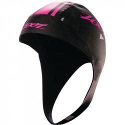 Zoot Swim Fit Neoprene Cap-HighVizPink L/XL