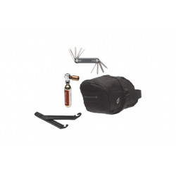 Blackburn Local CO2 Ride Kit, Väska CO2 Pump Verktyg