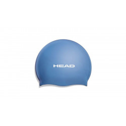 Head Swim Cap silicone moulded - royal blue
