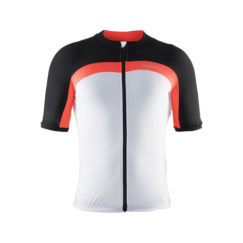 Craft Velo Jersey White/Orange Herr