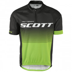 Scott Shirt RC Team 20 s/sl Black/Jasm Green