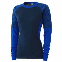 Johaug Win Wool Long Sleeve MBlue